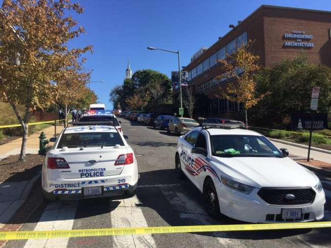 DCPD Reports Active Shooter On Howard University's Campus