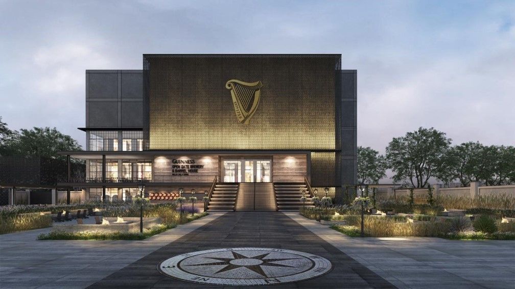 The full facility is set to open in spring/summer of 2018. (Courtesy Guinness Open Gate Brewery & Barrel House)