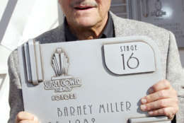 """HOLLYWOOD - NOVEMBER 16:  Actor Hal Linden attends the """"Barney Miller"""" television show reunion honoring the show with the Wall of Fame Plaque installation at Sunset Gower Studios on November 16, 2005 in Hollywood, California.  (Photo by Frederick M. Brown/Getty Images)"""