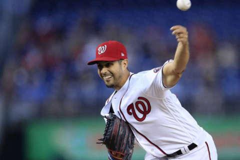 Pitcher Gonzalez will start Nationals' Game 5