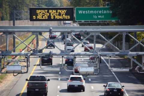 Know the basics: I-66 tolls start in December inside Beltway