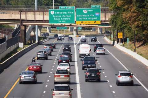 How many left-lane slowpokes have been fined under new Va. law?