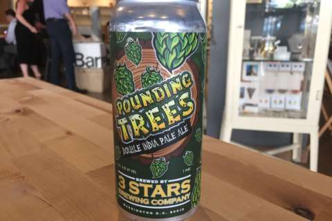 Beer of the Week: 3 Stars Pounding Trees Double IPA