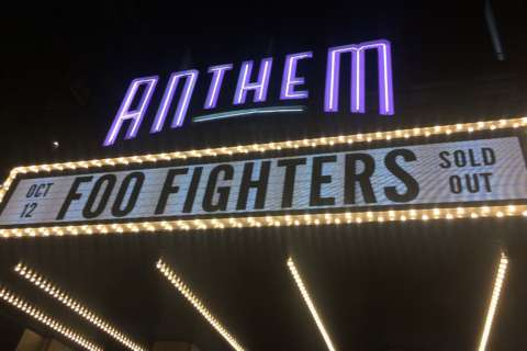 Times Like These: Foo Fighters headline opening night at The Anthem