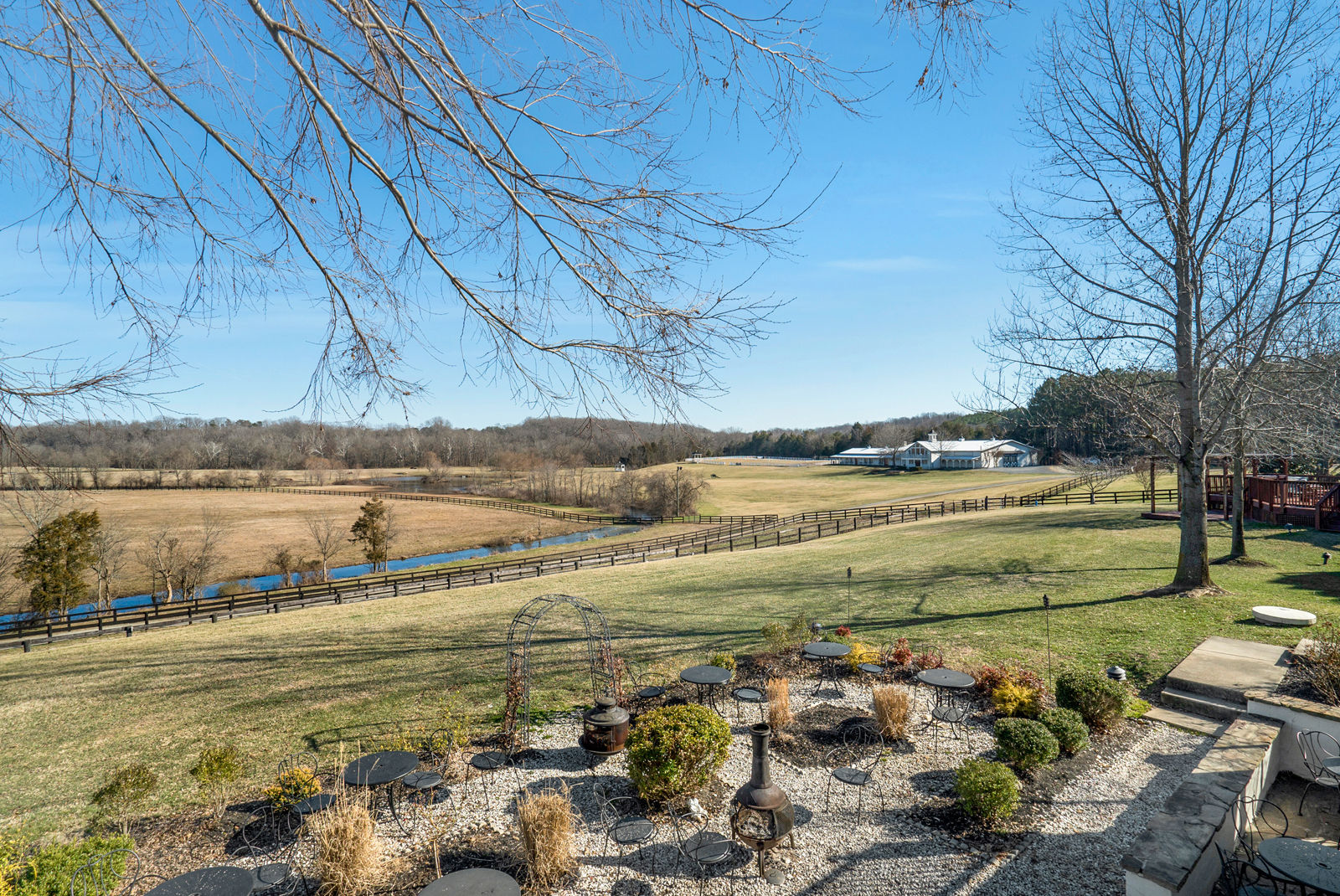 The Inn at Kelly's Ford is adjacent to the Rappahannock River. (Courtesy Auction Markets LLC)