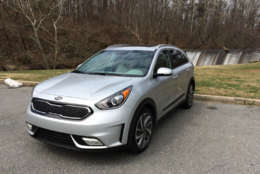With the Niro Touring, Kia saw an opportunity to bring a new car to market, one that sits up higher and has more of a crossover look and feel. (WTOP/Mike Parris)