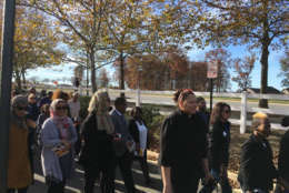 The event drew a large mixture of members of the Muslim and Christian community in 2016 to commemorate the lives the enslaved community. (WTOP/Liz Anderson)