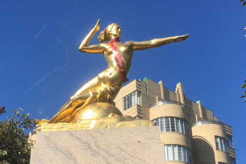 No 45-foot statue of nude woman? 'Naked Washington' already exists