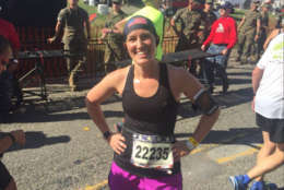 WTOP's Sarah Beth Hensley documented her marathon training along the way and completed the marathon on Sunday. (WTOP/John Domen)
