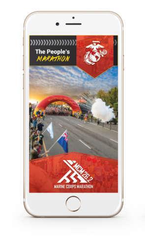 Track marine corps marathon runners with an app wtop for Marine corps marathon shirt 2017