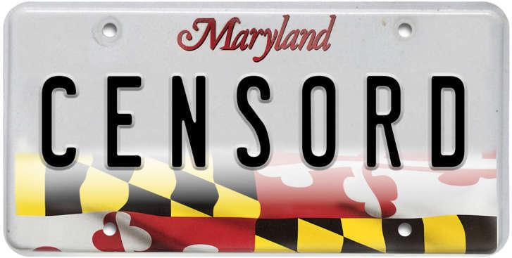 censord: funniest, foulest, most outrageous vanity plates in the dc