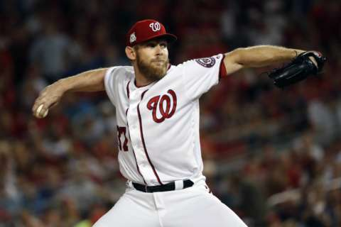 Strasburg will pitch in Game 4 against the Cubs, Nationals announce