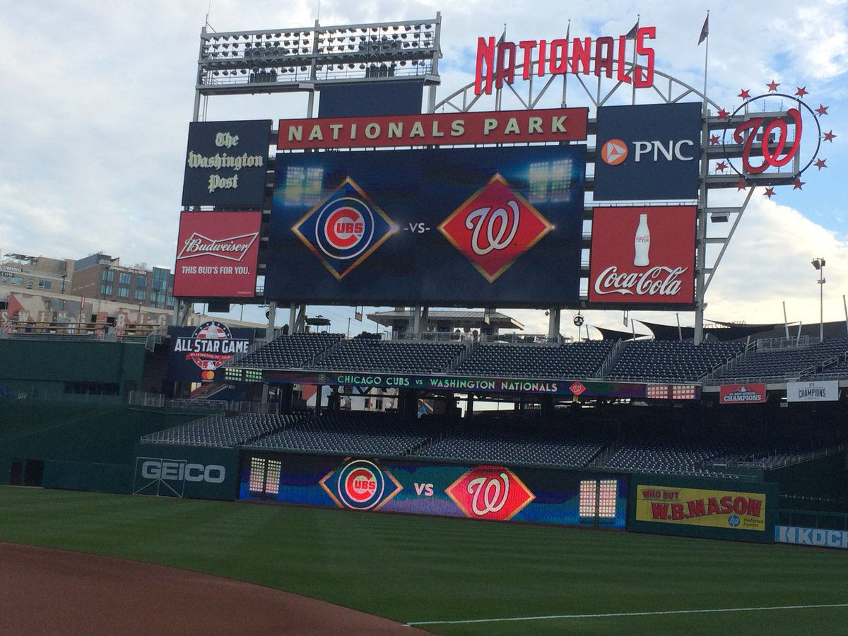 Gates open for game 1 of the National League Divisional Series at 5:30 p.m. (WTOP/Nick Iannelli)