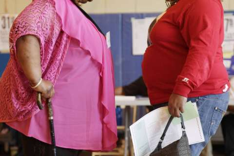 US obesity problem is not budging, new data show