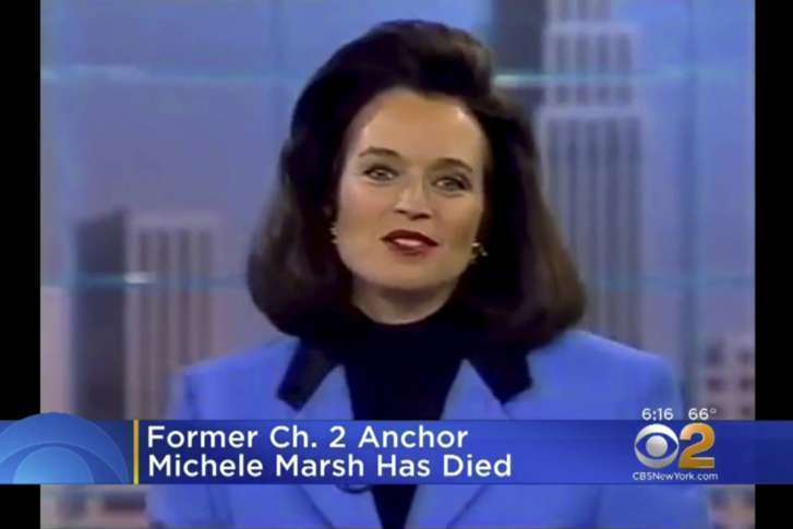 Longtime New York City News Anchor Michele Marsh Has Died Wtop