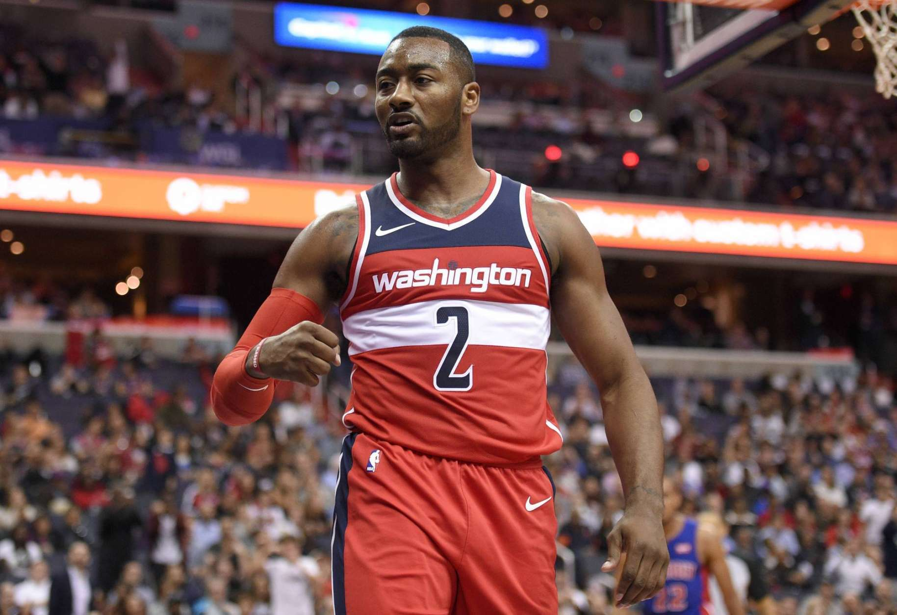 Wizards to go without guard John Wall after sustained knee injury   WTOP