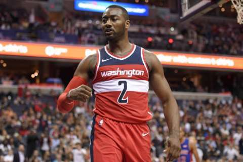 Wizards to go without guard John Wall after sustained knee injury