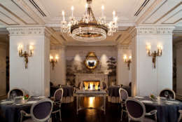 Plume is one of D.C.'s 12 Michelin-starred restaurants. Located in the Jefferson Hotel on 16th Street NW, the restaurant's focus is on fine dining. (Courtesy Kyle Schmitz)