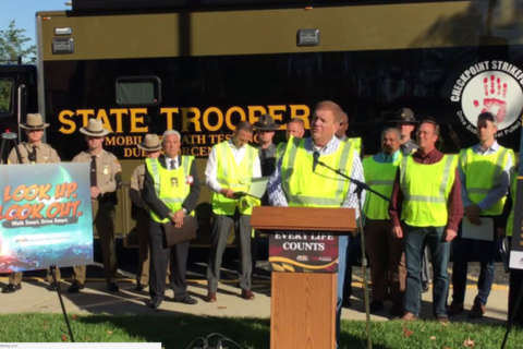 Md. officials provide tips, warnings for road safety over Halloween