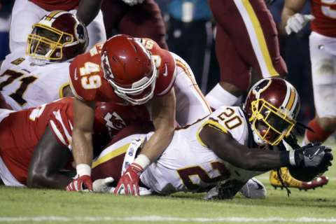 Gutsy effort by the Redskins falls short due to costly mistakes
