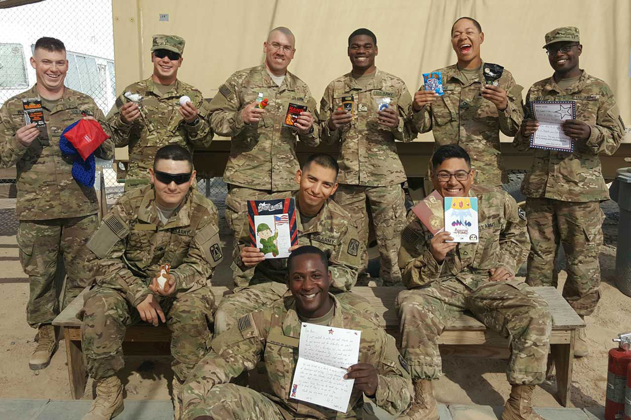 """""""Operation Troop Treats"""" is a candy exchange that sends soldiers excess Halloween candy. (Courtesy Operation Troop Treats)"""