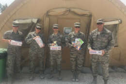 Not only do Kool Smiles dentists send the donated treats, but they also provide dental supplies and the money to cover shipment costs of the care packages. (Courtesy Operation Troop Treats)