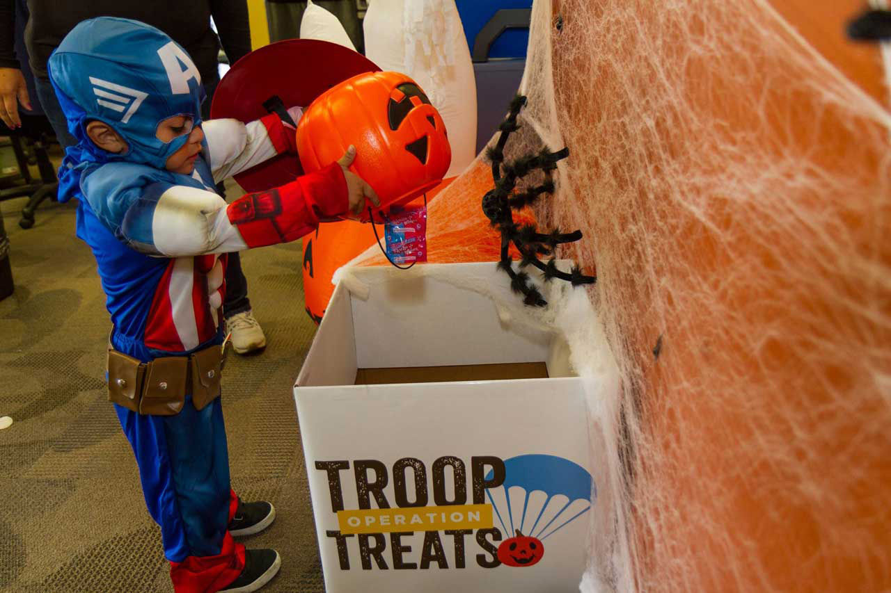 Kids can donate 25 pieces of unopened candy and a get a new toy at Kool Smiles dental offices around the D.C. area. (Courtesy Operation Troop Treats)