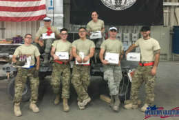 The candy is sent to troops serving overseas as part of a larger care package. (Courtesy Troop Treats)