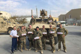 The packages are put together by volunteers with Operation Gratitude, part of a national non-profit that sends thousands of care packaages to U.S. service members deployed overseas. (Courtesy Operation Troop Treats)