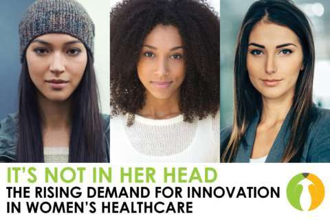 It's not in her head: Challenging systemic attitudes in the medical community toward innovation in women's health