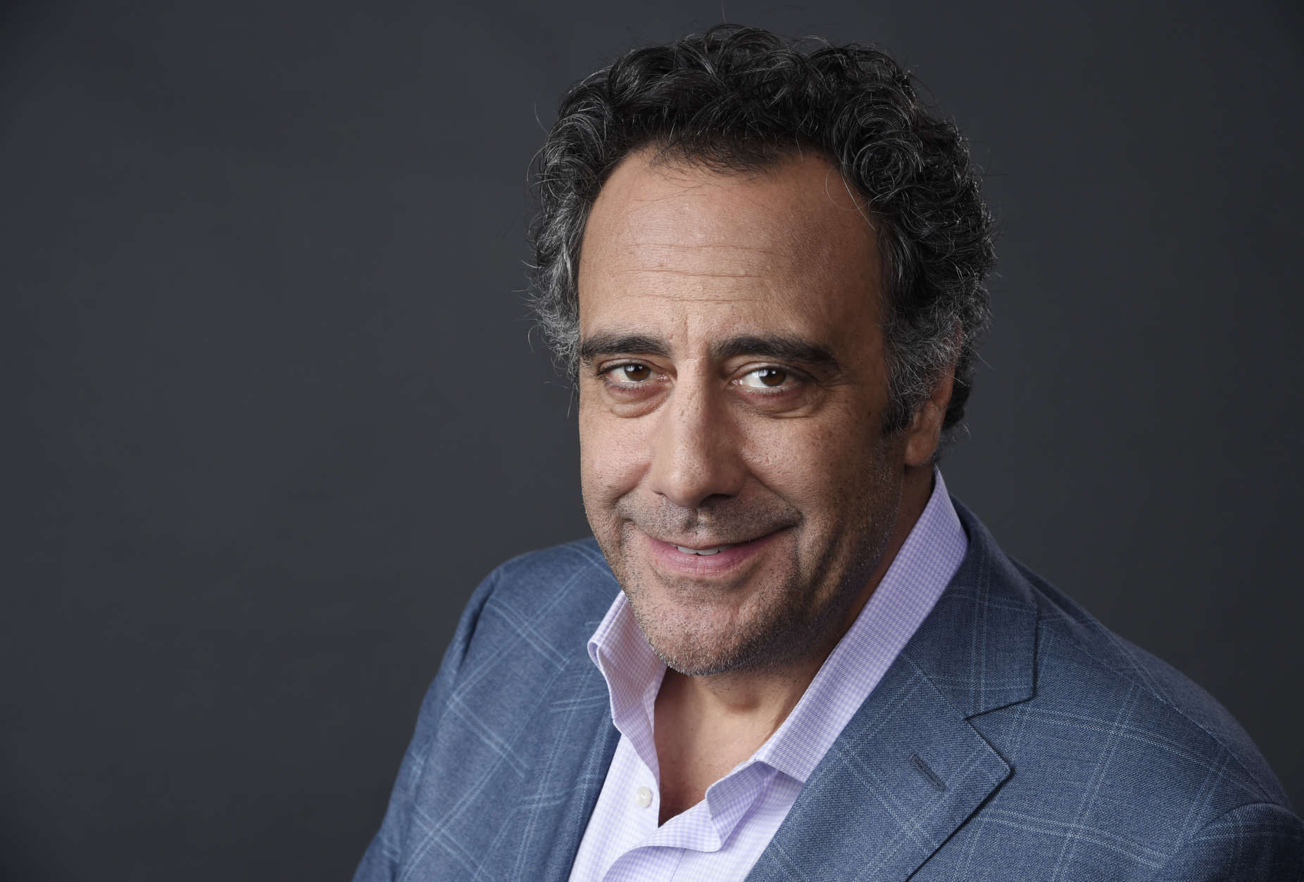 "Brad Garrett, a cast member in the FX series ""Fargo,"" poses for a portrait during the 2015 Television Critics Association Summer Press Tour at the Beverly Hilton on Friday, Aug. 7, 2015, in Beverly Hills, Calif. (Photo by Chris Pizzello/Invision/AP)"
