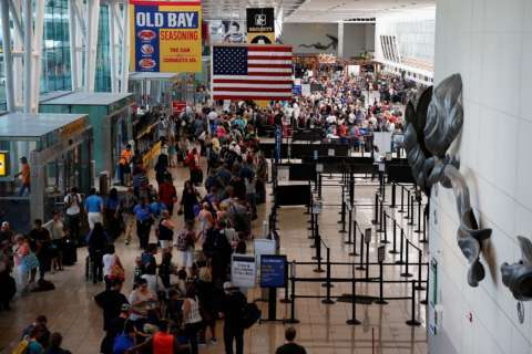 BWI breaks its own record: Number of flyers jumped in July