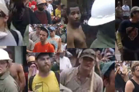 Police need help identifying 10 people connected to Charlottesville rally assault