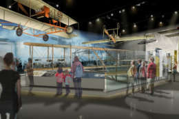 """Visitors will see the """"Early Flight"""" exhibit. (Copyright: Smithsonian Institution)"""