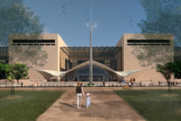 How the National Mall could look in the future. (Copyright: Smithsonian Institution)