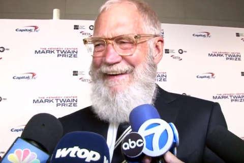 No joke: David Letterman receives Mark Twain Prize at Kennedy Center