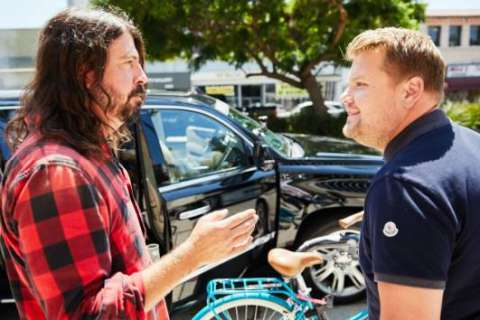 """Dave Grohl says """"Carpool Karaoke"""" experience was """"a little uncomfortable"""""""