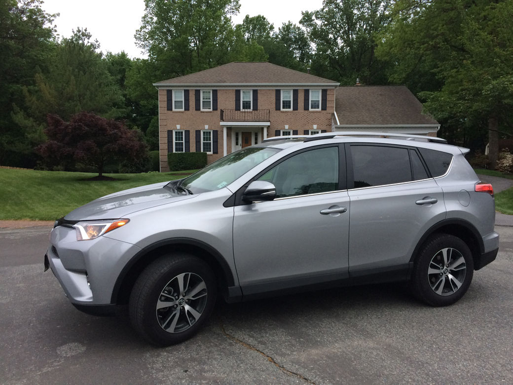 The RAV4 is head of the pack in compact crossover market sales for now. (WTOP/Mike Parris)