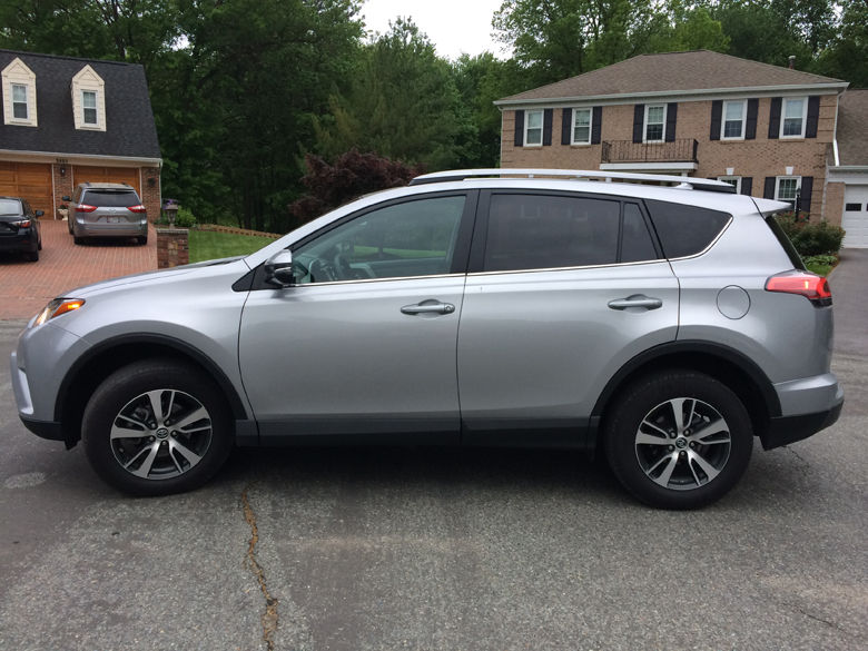 With a winning combination of style and safety, the RAV4 is an attractive package for many. (WTOP/Mike Parris)