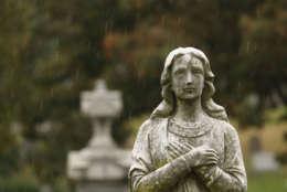 Rock Creek Cemetery (WTOP/Kate Ryan)