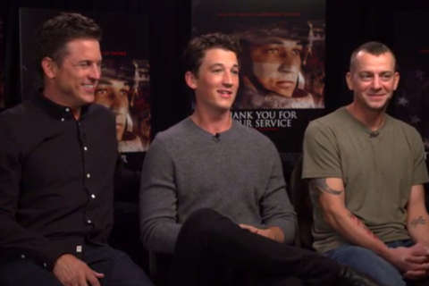 Q&A: Miles Teller explores military PTSD in 'Thank You For Your Service'