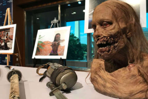 AMC's 'The Walking Dead' finds sanctuary at the Smithsonian (Photos)