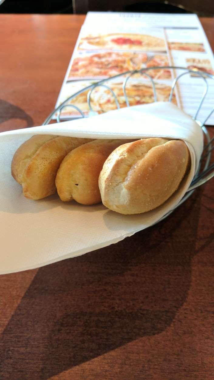 The breadsticks. (WTOP/Brandon Millman)