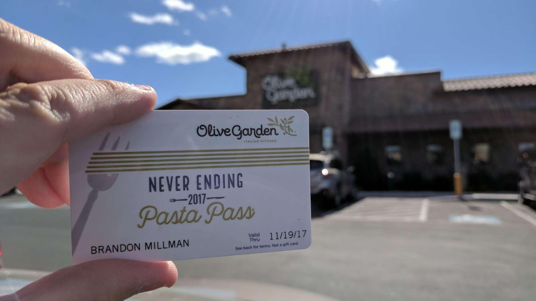 The Harrisonburg Olive Garden. (WTOP/Brandon Millman)