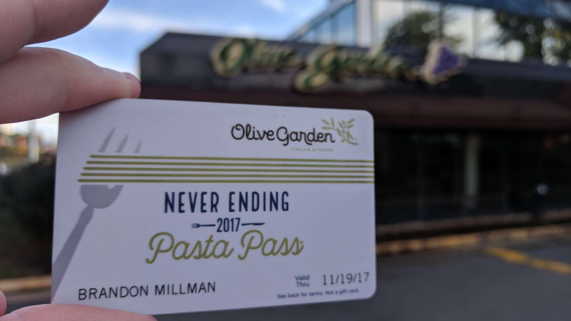The Olive Garden in Vienna. (WTOP/Brandon Millman)