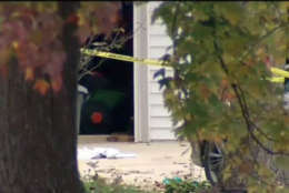 A 70-year-old man had been attacking his 76-year-old wife with an ax, police officials said. (Courtesy NBC4)
