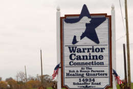 The headquarters for Warrior Canine Connection in Germantown. (WTOP/Kate Ryan)