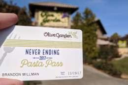 The Olive Garden in Bowie. (WTOP/Brandon Millman)