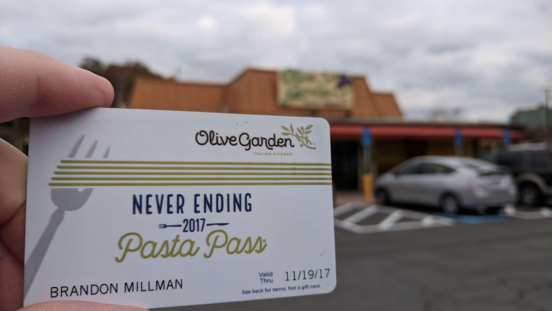 The Fairfax Olive Garden. (WTOP/Brandon Millman)