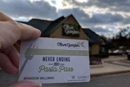 The Olive Garden in Columbia. (WTOP/Brandon Millman)